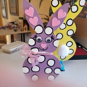 Funny Bunnies for Easter 10.00 each.